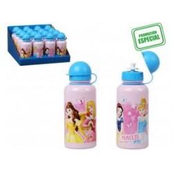 botella aluminio princesas...