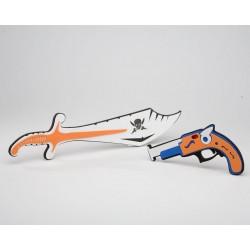 bl espada pistola luz y...