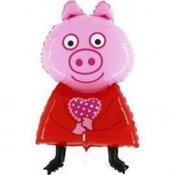 GLOBO PQ PALO CERDITA PIG...