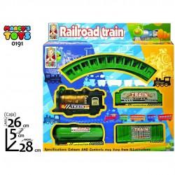 CJ TREN RAILROAD TRAIN...