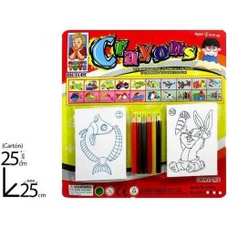 BL CRAYONS LAPICES COLORES...