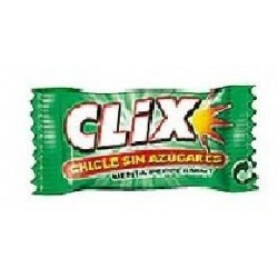 CHICLE CLIX ONE SIN AZ...