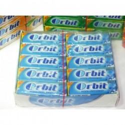 CHICLE ORBIT MENTA SIN...