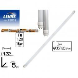 TUBO LEDS LENAX T8 18W 1.2m...
