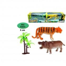 CJ MUNDO ANIMAL 2 ANIMALES...